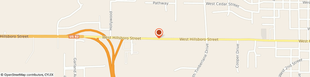 Route/map/directions to Country Inn & Suites, 71730 El Dorado, 2413 W Hillsboro St