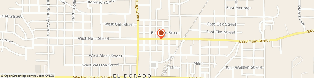Route/map/directions to Environmental Solutions, 71730 El Dorado, 203 EAST MAIN STREET