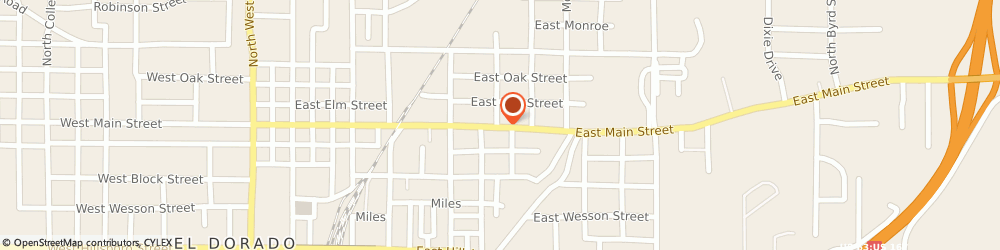 Route/map/directions to Kinder Kollege Learning Center and Daycare LLC, 71730 El Dorado, 900 East Main Street