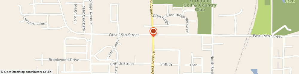 Route/map/directions to Simmons Bank ATM, 71730 El Dorado, 2424 N. West Avenue