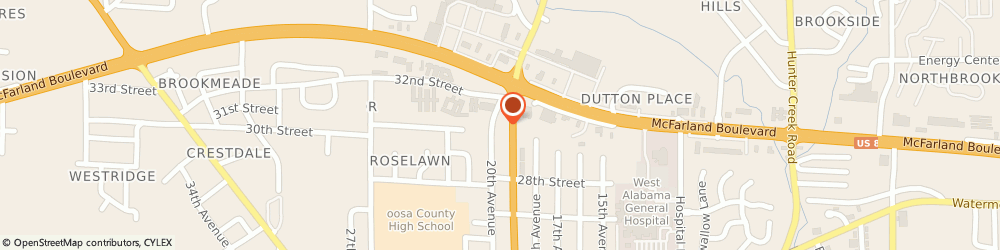 Route/map/directions to Schepers Mike Dr Veterinarian, 35476 Northport, 2914 Lurleen B Wallace Blvd
