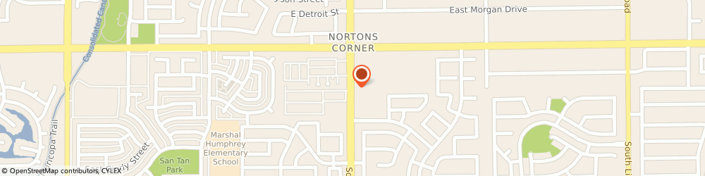 Route/map/directions to Baskin-Robbins, 85295 Gilbert, 2487 S Gilbert Rd