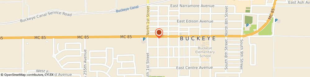 Route/map/directions to Safeco Insurance Agent, 85326-2709 Buckeye, 111 E Monroe Ave Ste 200
