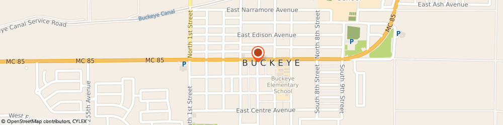 Route/map/directions to Dryer Alice Insurance, 85326 Buckeye, 423 E Monroe Ave