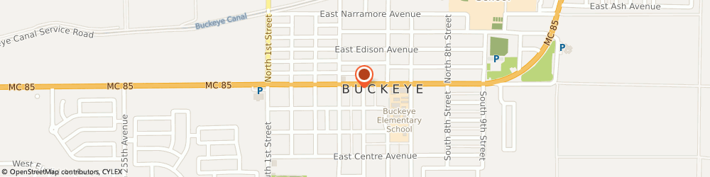 Route/map/directions to Farmers Insurance - Marcy George, 85326 Buckeye, 425 E Monroe Ave