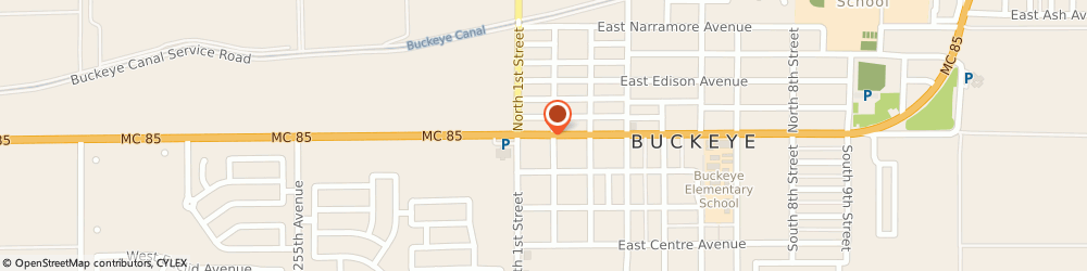 Route/map/directions to Jeremy Dudleston - State Farm Insurance Agent, 85326 Buckeye, 111 E Monroe Avenue, Suite 101