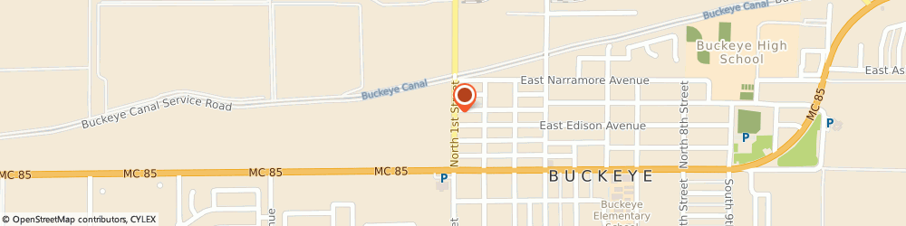 Route/map/directions to Safeco Insurance Agent, 85326-2318 Buckeye, 325 N 1St St Ste 1