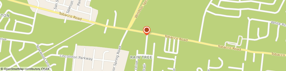 Route/map/directions to O'reilly Auto Parts, 30906 Augusta, 2488 Tobacco Road