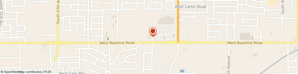 Route/map/directions to The UPS Store, 85041 Phoenix, 2030 W Baseline Rd