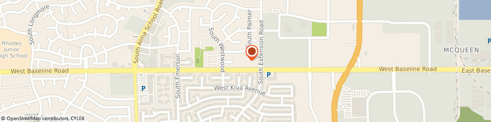 Route/map/directions to Family Dollar Store, 85210 Mesa, 832 W Baseline Rd