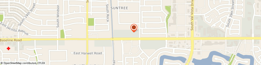 Route/map/directions to Family Allergy Clinic, 85204 Mesa, 3048 EAST BASELINE ROAD SUITE 122