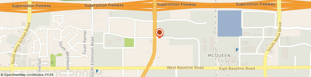 Route/map/directions to Circle K, 85210 Mesa, 1810 S COUNTRY CLUB DR