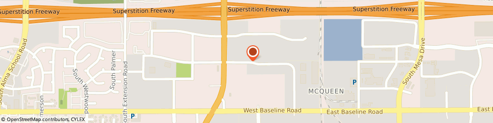 Route/map/directions to Empire Parts and Client Service, 85210 Mesa, 256 W. Juanita Ave