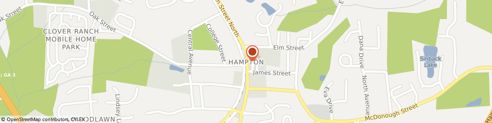 Route/map/directions to SHOE SHOW, 30228 Hampton, Centre At Lovejoy, 11375 Tara Blvd