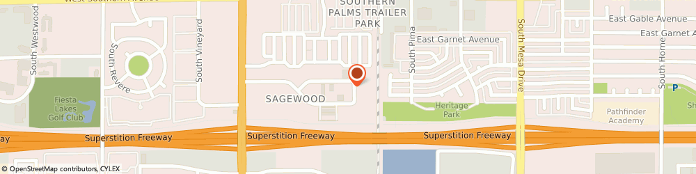 Route/map/directions to Driven Solutions Parts, 85210 Mesa, 55 WEST HOOVER AVENUE SUITE 13