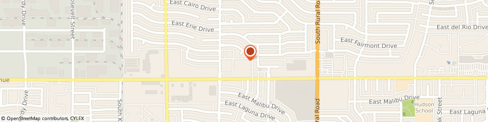 Route/map/directions to Danis Agency, 85282 Tempe, 434 E SOUTHERN AVE