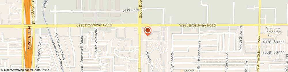 Route/map/directions to Madera Point Apartments, 85202 Mesa, 445 S Dobson Rd