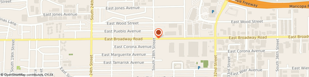 Route/map/directions to K-Zell Metals Incorporated, 85040 Phoenix, 1725 E Broadway Rd