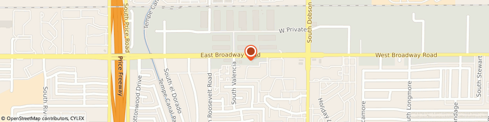 Route/map/directions to New Technology, 85202 Mesa, 2235 WEST BROADWAY ROAD