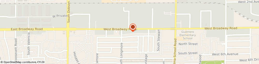 Route/map/directions to Volkswagen Authorized Agency-Berge Mazda Volkswagn, 85202 Mesa, 1515 WEST BROADWAY ROAD