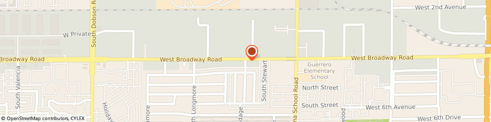 Route/map/directions to Auto Point, 85202 Mesa, 1365 WEST BROADWAY ROAD