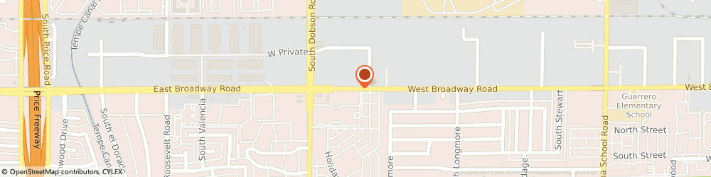 Route/map/directions to Avis Rent a Car - Local Reservations, Mesa Rental Location, Local Rental Locations, Mesa, 85202 Mesa, 1844 WEST BROADWAY ROAD