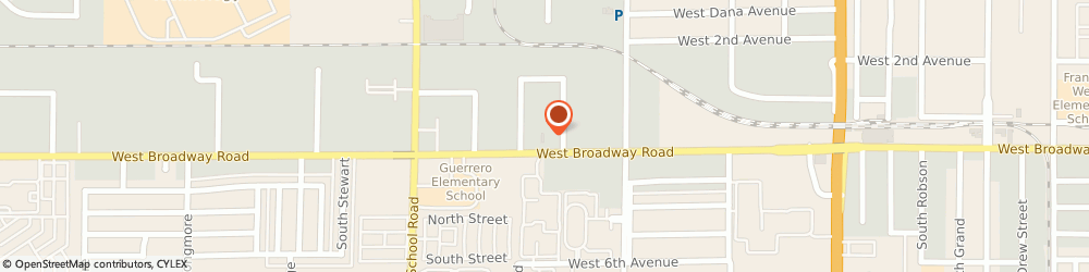 Route/map/directions to B & B Automotive Machine Co, 85210 Mesa, 936 WEST BROADWAY ROAD