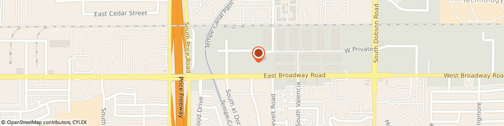 Route/map/directions to Datsun Parts & Service, 85202 Mesa, 2450 WEST BROADWAY ROAD