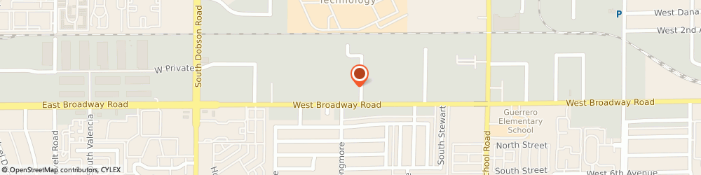 Route/map/directions to Arizona Inventory Specialists Incorporated, 85202 Mesa, 1554 WEST BROADWAY ROAD