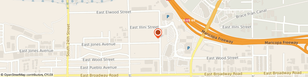 Route/map/directions to Eastern Products Foundry Incorporated, 85040 Phoenix, 2810 E Illini St