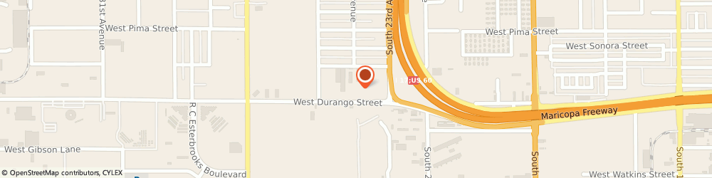 Route/map/directions to Glenn G Jeffries Used Cars Inc, 85009 Phoenix, 2441 W Mohave St