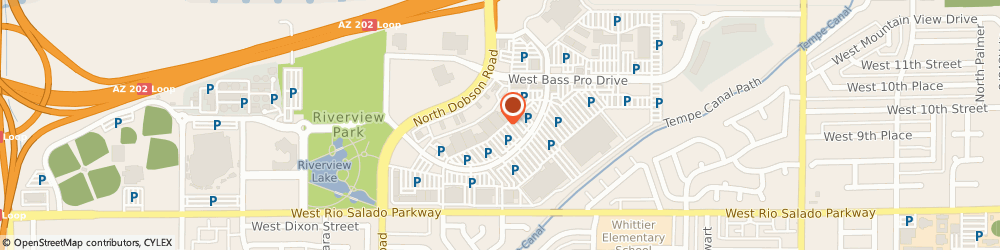 Route/map/directions to Marshalls, 85201 Mesa, 841 N Dobson Rd
