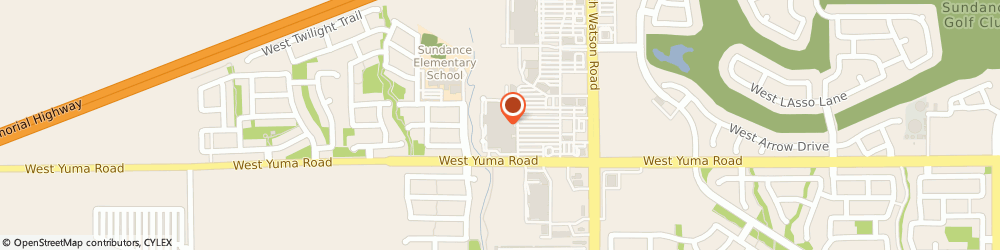 Route/map/directions to Desert Financial Credit Union, 85326 Buckeye, 1060 S. Watson Rd.