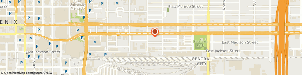 Route/map/directions to Marijuana Marketing Xperts, 85034 Phoenix, 1201 East Jefferson Street