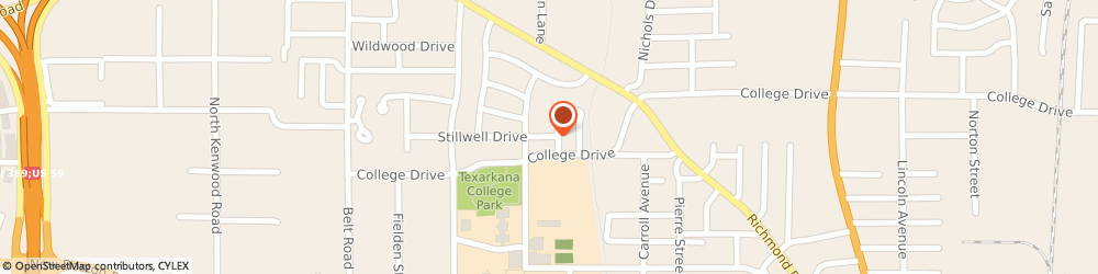 Route/map/directions to New Horizons - Stillwell Street House, 75501 Texarkana, 2611 STILLWELL DRIVE
