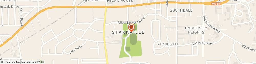 Route/map/directions to Starkville District United Methodist Church, 39759 Starkville, 101 CGT THAMES DRIVE