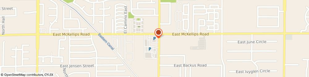Route/map/directions to Walgreens, 85213 Mesa, 2737 E McKellips Rd