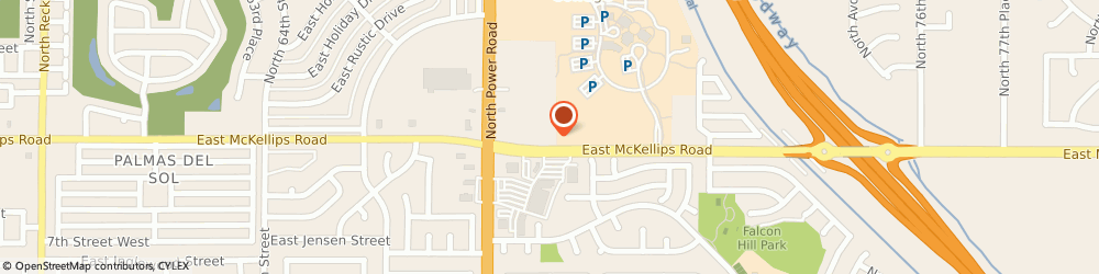 Route/map/directions to M&S Sporting Goods, Inc., 85215 Mesa, 2025 N Power Rd