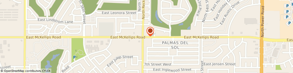 Route/map/directions to Circle K, 85215 Mesa, 6005 E MCKELLIPS RD