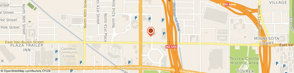 Route/map/directions to New Car Network, 85008 Phoenix, 333 N 44Th St