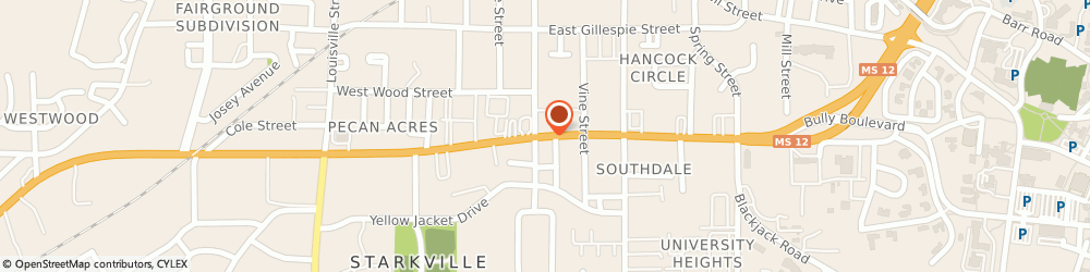 Route/map/directions to Gentiva Health Services, 39759 Starkville, 115-A Highway 12 West