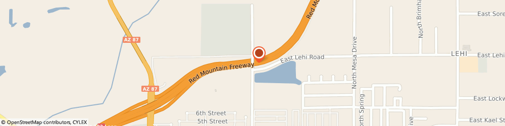 Route/map/directions to Fiesta Trucking Co, 85201 Mesa, 2425 N Center St
