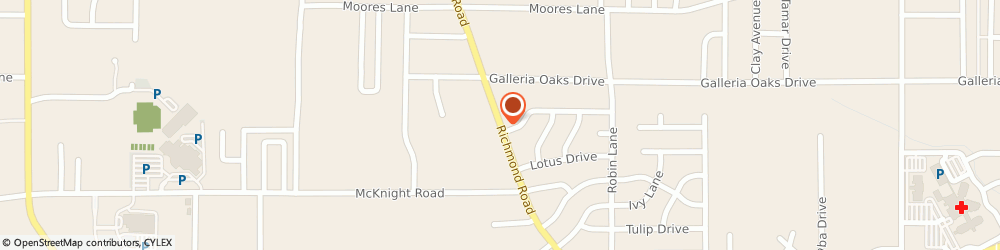 Route/map/directions to Beltone, 75503 Texarkana, 3404 Richmond Road