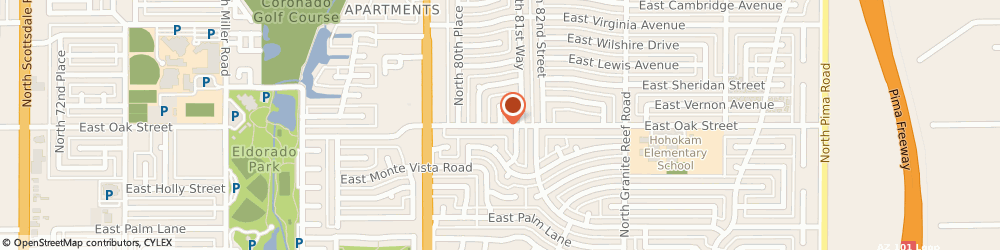 Route/map/directions to Alan's Air, 85251 Scottsdale, 2902 N 81st Pl