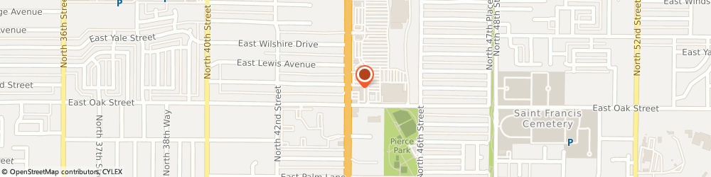 Route/map/directions to The UPS Store, 85008 Phoenix, 2303 N 44th St