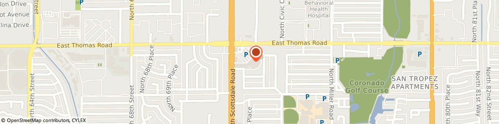 Route/map/directions to Atm Great Western Bank, 85257 Scottsdale, 2785 N Scottsdale Rd
