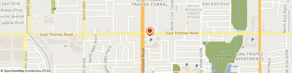 Route/map/directions to Starbucks Coffee Co, 85257 Scottsdale, 2865 N. Scottsdale Rd