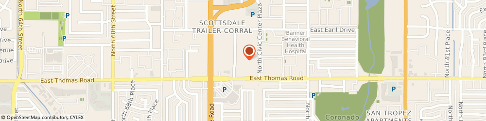 Route/map/directions to Scottsdale Air Heating & Cooling, 85250 Scottsdale, 3011 N 73Rd St