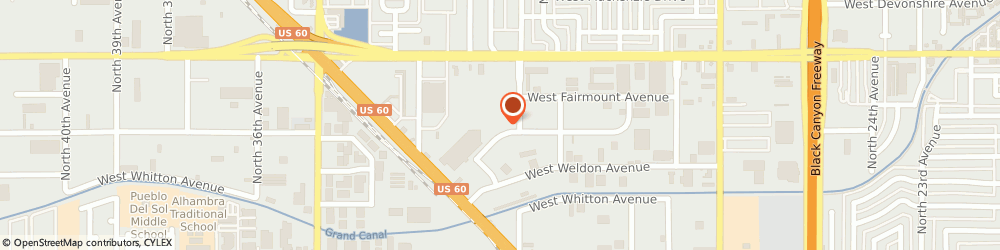 Route/map/directions to RemodAZ, 85017 Phoenix, 3116 W Clarendon Ave