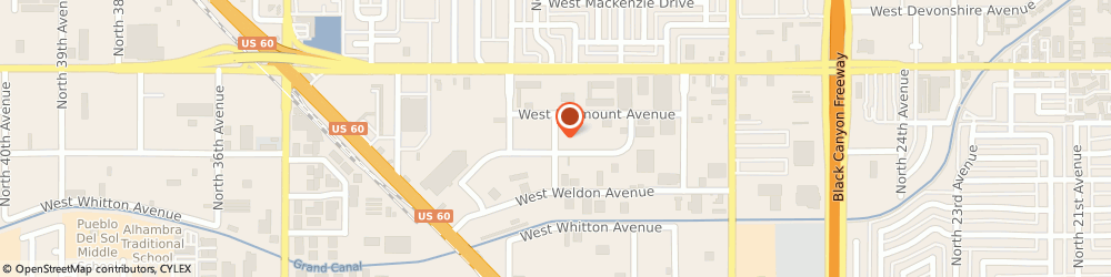 Route/map/directions to Preferred Dental Casting, 85017 Phoenix, 3935 N 30TH AVE